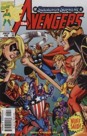 Avengers #6 (1998) Heroes Return Marvel Comics US Import Busiek Perez